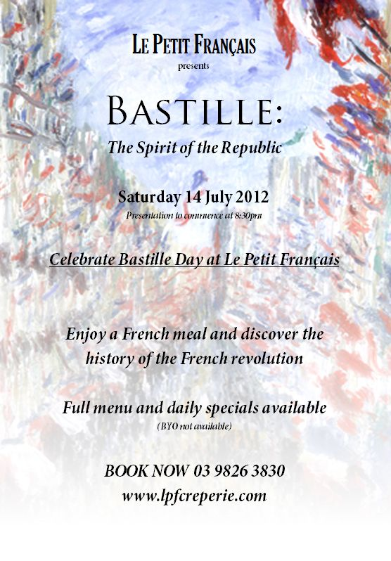 bastille day greeting card