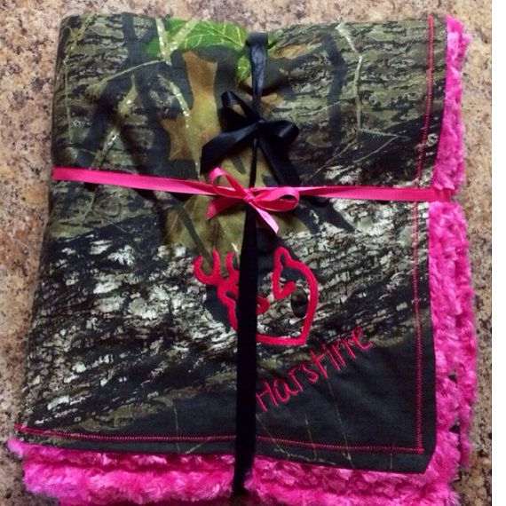 Mossy Oak Camo Blanket Different Colors & by DazzlingCamoCreation, $19.99