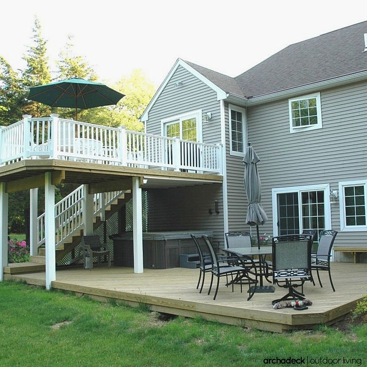 135 Best Multilevel Deck And Porch Ideas Images On