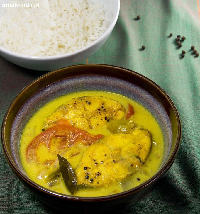 Kokosowe curry rybne (Fish Molee)