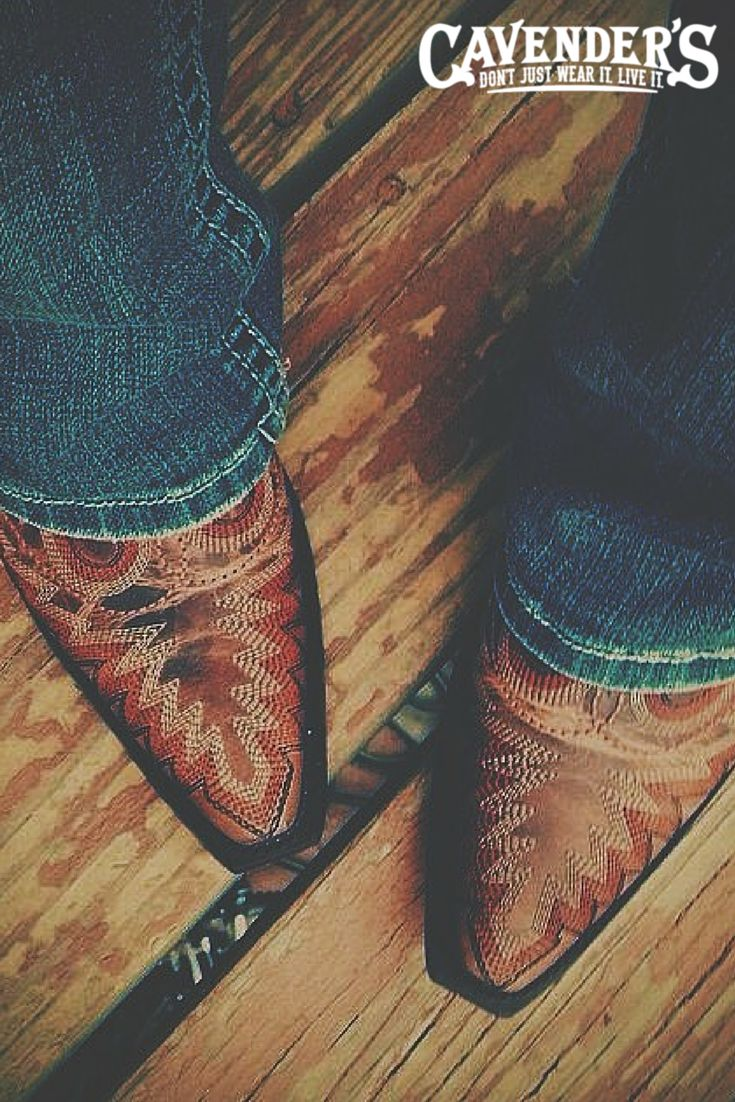 Brown leather cowboy boots are and will always be a #classic.  #Corral #boots