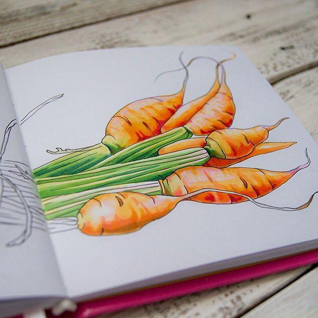 WEBSTA @ al1ya - Морковка в процессе