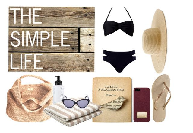 The Simple Life by gabrielleofthefish on Polyvore featuring River Island, Forever 21, Havaianas, Flora Bella, J.Crew, Michael Kors, St. Tropez, Bungalow Flooring, Frescobol Carioca and Isaac Mizrahi
