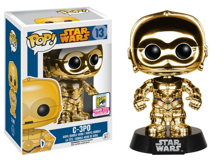 Funko Pop! SDCC2015 Exclusive C-3PO.