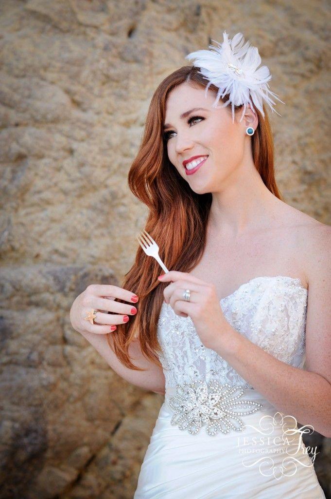 The Little Mermaid inspired wedding and engagement shoot! – Jessica Frey wedding… wedding engagement hairstyles 2019