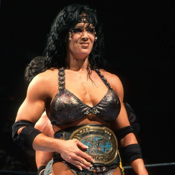 In honor of her memory, Chyna with the WWE Intercontinental Championship. The only woman to actually hold it. She is still missed. R.I.P. Joanne Lauer.
