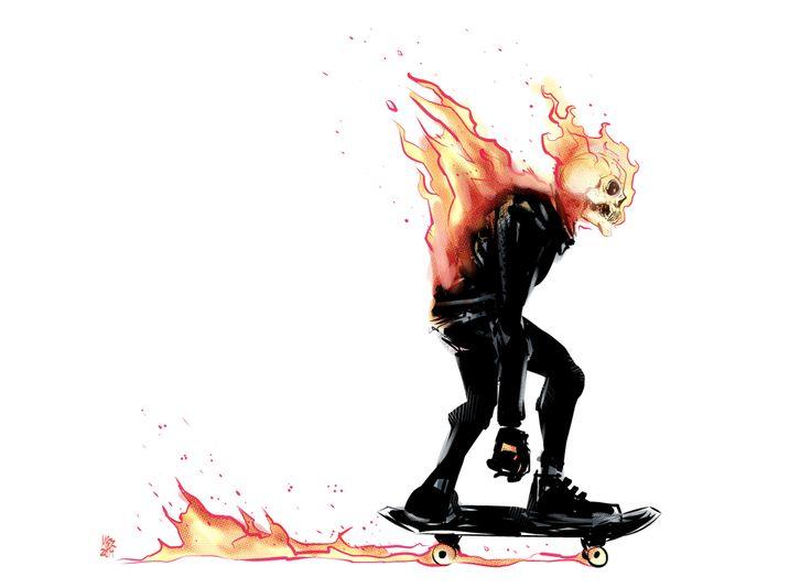 Ghost Rider Reboot Design by MatthewPetz on DeviantArt