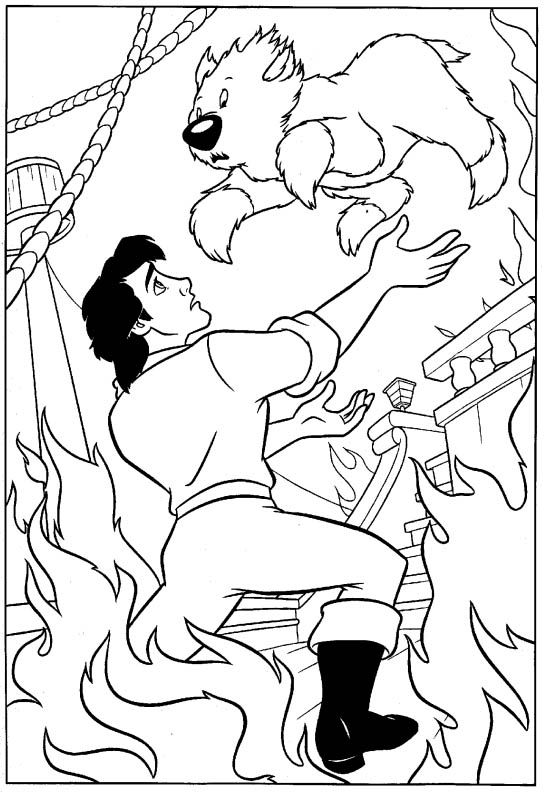 Eric Little Mermaid Coloring Pages Coloring Pages