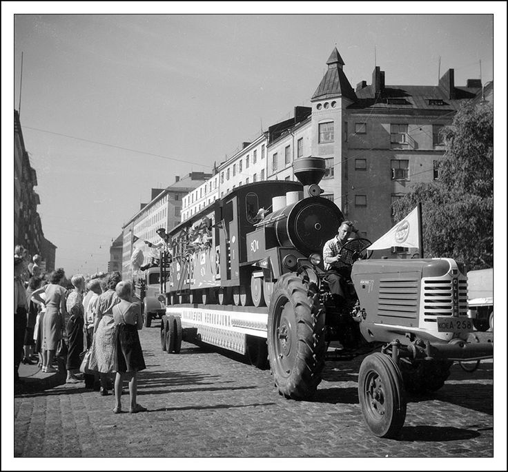 Helsinginkatu street, Helsinki 1950-1952