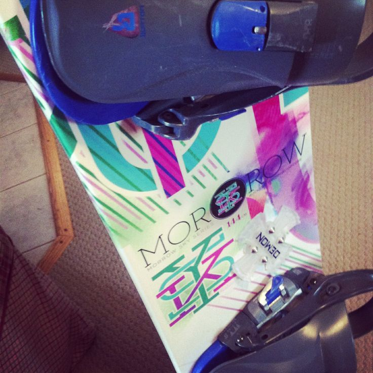 Morrow snowboard, my board just different bindings.