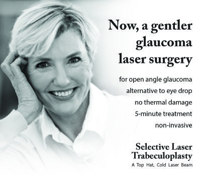 SELECTIVE LASER TRABECULOPLASTY: THE GENTLER GLAUCOMA LASER SURGERY Selective Laser Trabeculoplasty is a type of laser surgery that is used to lower intraocular pressure in glaucoma. In most open-angle glaucomas the aqueous fluid is unable to pass through the Trabecular Meshwork (drainage grate inside the eye) as easily as it should... http://david-richardson-md.com/lp/selective-laser-trabeculoplasty-the-gentler-glaucoma-laser-surgery/