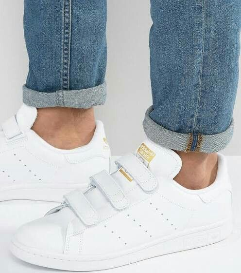 adidas stan smith scratch blanche