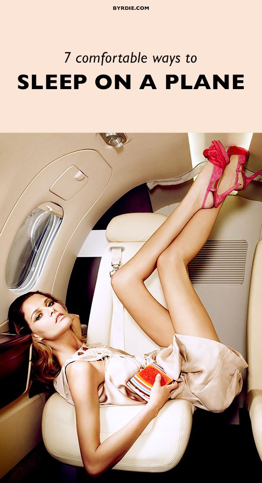 7 weird ways to sleep on a plane (that aren't horribly uncomfortable)