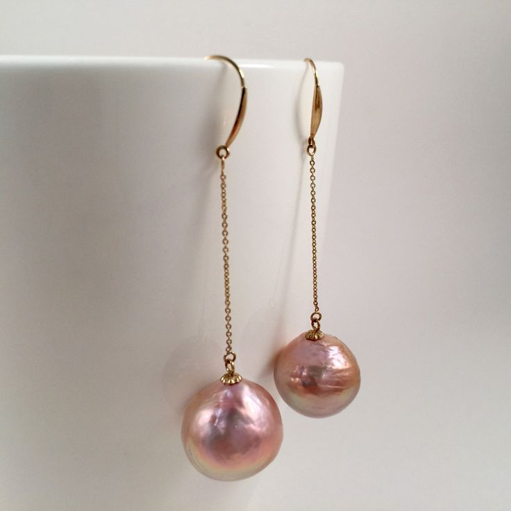 petal baroque earrings product light pillow stud pink book keshi pearls pearl statement design
