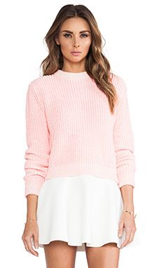 Torn By Ronny Kobo Brisa Chunky Sweater  WAS $224.75 NOW $157.33 http://richgurl.com/linkout/1836767
