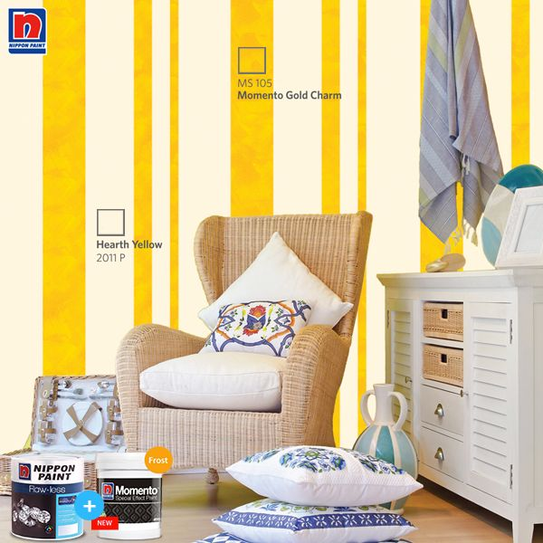 Ingin ruang tamu terlihat elegan dan segar? Cat dinding ruang tamu Sahabat Nippon Paint dengan warna Wild Iris 872 dan Luminous Lavender MS 124 dan tambahkan aksesoris modern. Lihat inspirasi warnanya di http://bit.ly/majestic-colour-palette  #ImajinasiTanpaKompromi #WarnaWarniLebaran