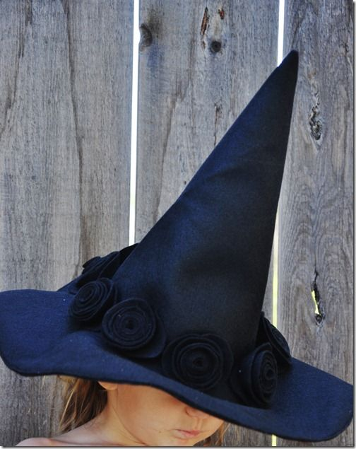 Tutorial: Elphoba Witch Hat: Hats Patterns, Witch Dress, Witch Hats, Halloween Witch, Hats Flowers, Hats Tutorials, Halloween Costumes, Free Patterns, Costumes Ideas