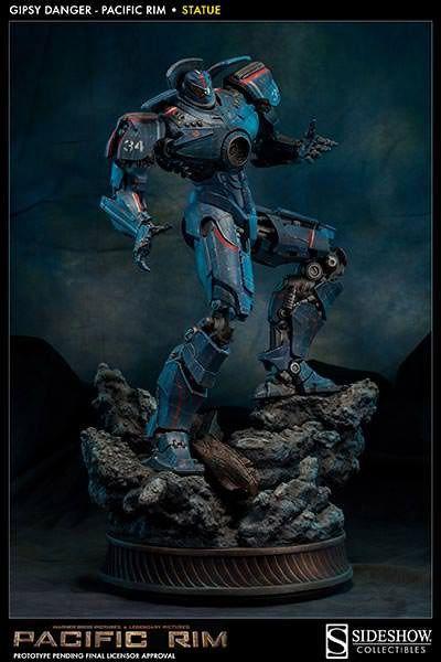 Estatua Pacific Rim. Gipsy Danger 51 cm. Sideshow Collectibles