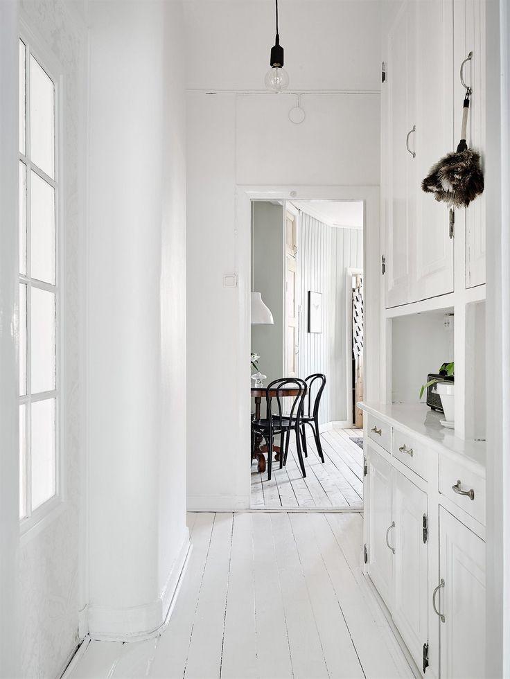 Grey green walls Interior Design Living RoomInterior