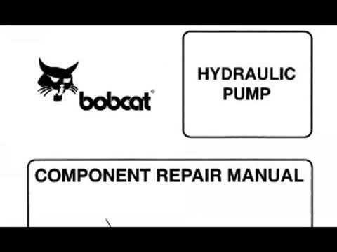 Bobcat 843, 843B Skid Steer Loaders Service Manual PDF