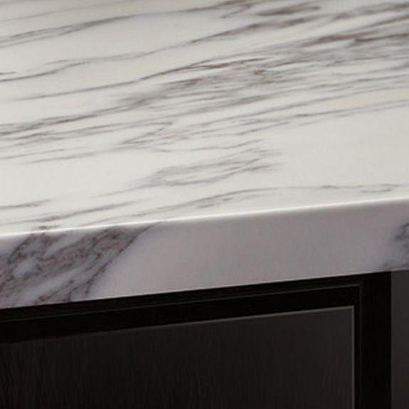 Marbella edge (laminate countertop) - pencil edge