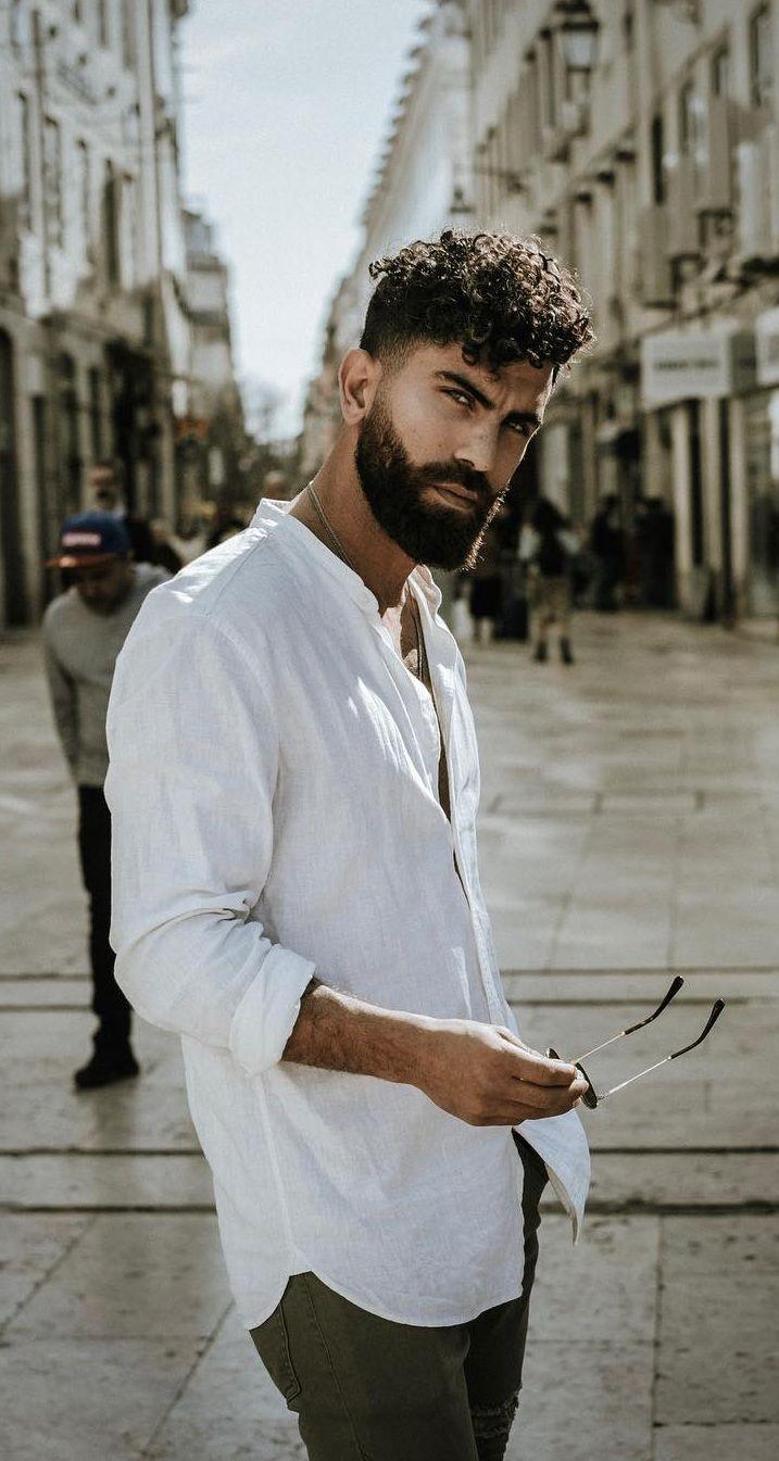 14 Beard Looks For Curly Haired Men Beard Look Beard Styles Short Curly Hair Men