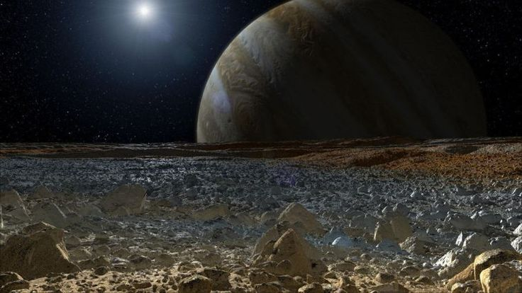 NASA: Activity Spied on Europa, But It's 'NOT Aliens' - Alien UFO Sightings