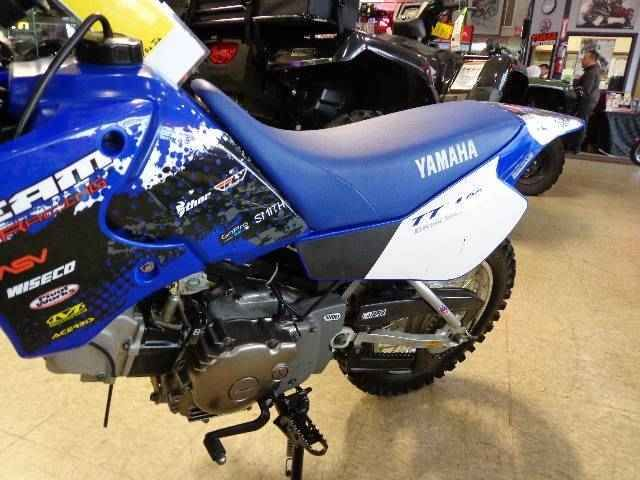 Used 2006 Yamaha TTR90E Electric Motorcycles For Sale in Pennsylvania,PA. GO BIG. When it's time to step it up a notch, the three-speed automatic-clutch four-stroke-powered TT-R90E is the way to go. Complete with big TT-R styling cues and electric start.