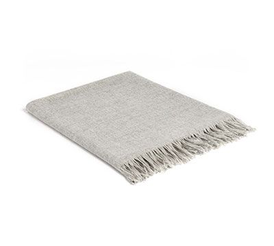 Mrs.Me home couture  Blanket Nick Light grey