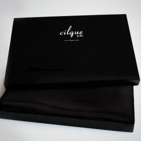 Black Tie Optional Duvet Cover