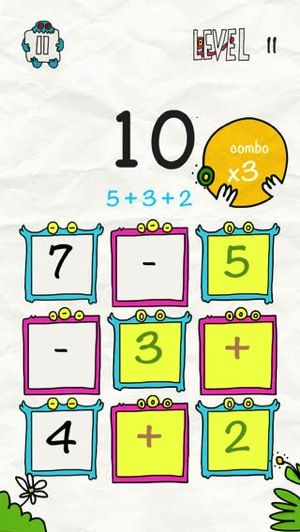 Math x Creatureby particlemade is an original and fun puzzle math game apps for with to learn Learn numbers with Addition, Subtraction, Mul...