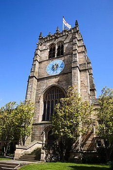St. Peters Cathedral Church, City of Bradford, West Yorkshire, Yorkshire, England, United Kingdom, Europe