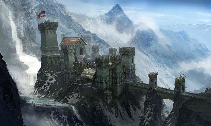 fantasy city concept art | Dragon Age 3 Concept Art Is Mostly Generic Fantasy