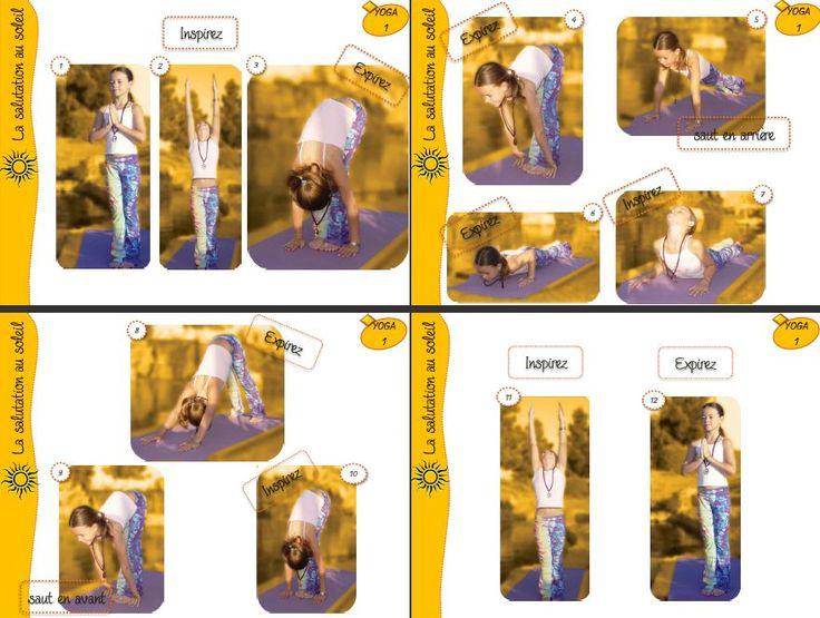 fiches visuelles pour pratiquer le yoga avec sa classe