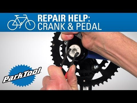 Crank Removal and Installation - Self Extracting - YouTube. Good replacement idea for extra large Allen keys.