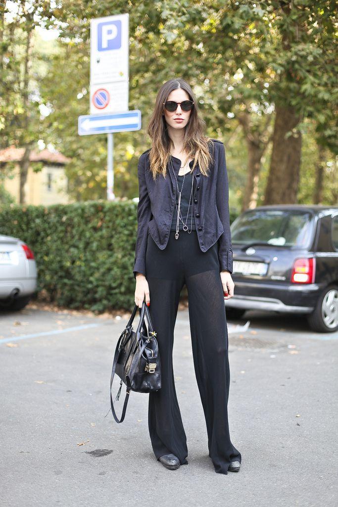 Sheer trouser