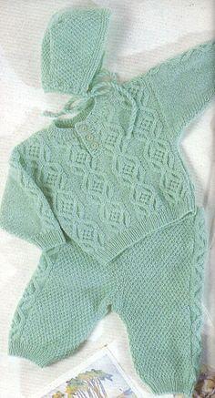 Пуловер ползунки и чепчик новорожденному.. Обсуждение на LiveInternet - Российский Сервис Онлайн-Дневников