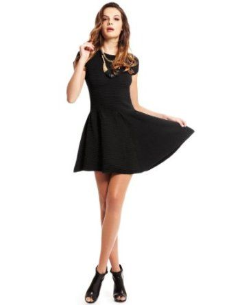 In a black dress song xs