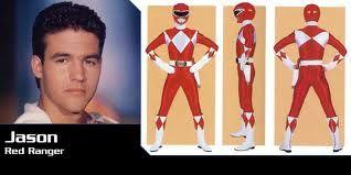 Red ranger Jason - Power Ranges - Mighty Morphin 恐竜戦隊ジュウレンジャー, Kyōryū Sentai Jūrenjā
