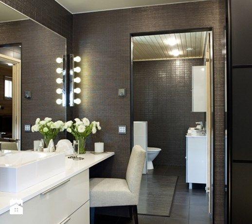 Aranżacje wnętrz - Łazienka: Ciemna strona łazienki - wersja tylko dla odważnych? - Łazienka, styl glamour - MartaWieclawDesign. Przeglądaj, dodawaj i zapisuj najlepsze zdjęcia, pomysły i inspiracje designerskie. W bazie mamy już prawie milion fotografii!