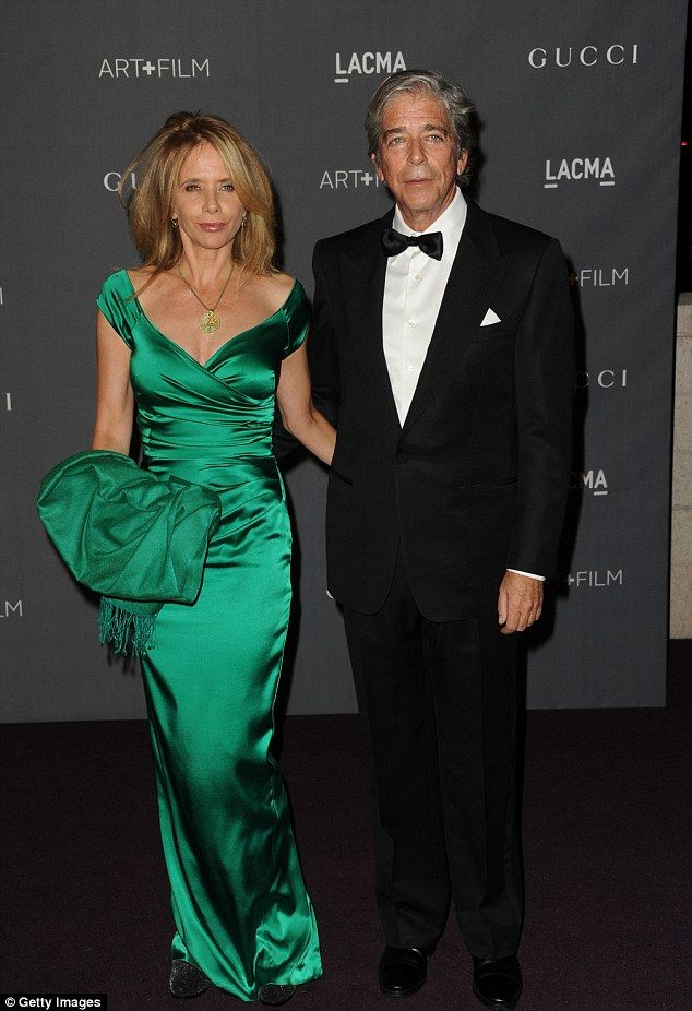 Rosanna Arquette got married to investment banker Todd Morgan