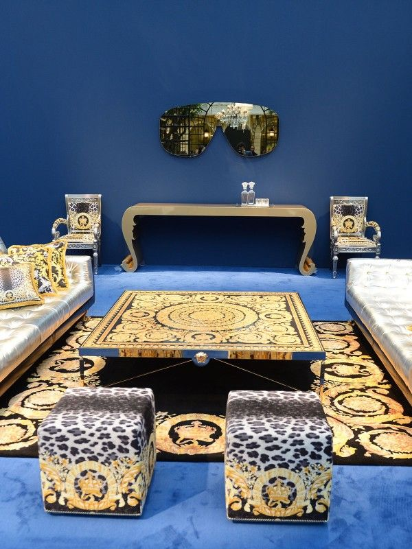 Black & Gold: Versace Home Collection