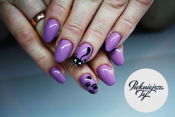 #nails #hybryda #paznockie #kitty #kociaki