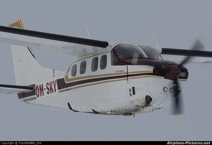 Cessna 210 Centurion  (landing gear retracted)