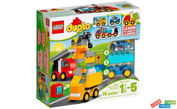 Мои первые машины и грузовики | Lego