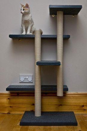 PVC PASSO A PASSO: Arquiteturas para gatos em tubos de PVC