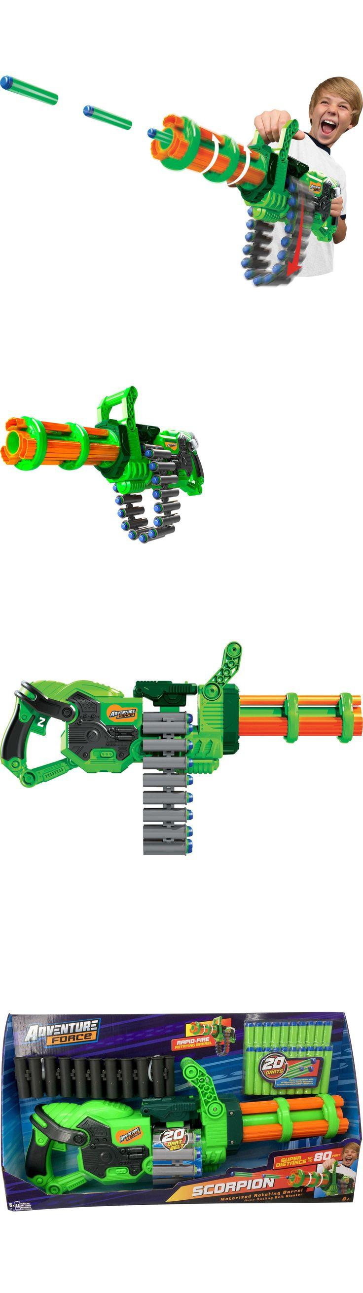 Dart Guns and Soft Darts 158749: Adventure Force Scorpion Motorized Gatling Blaster Automatic Gun Dart Toy New -> BUY IT NOW ONLY: $30.09 on eBay!
