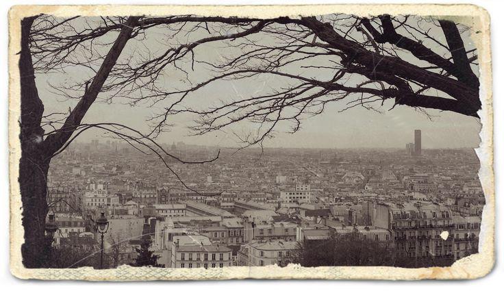 Paris retro style