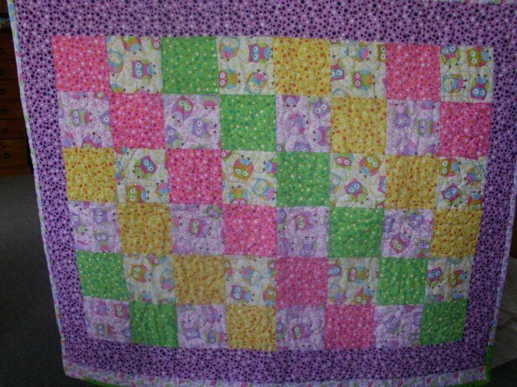 Phoenix cot quilt