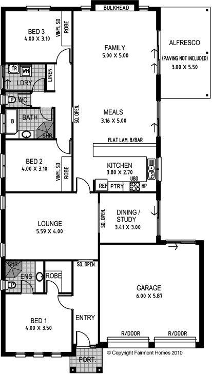26 best house plans images on pinterest blueprints for homes fairmont waverley malvernweather Choice Image